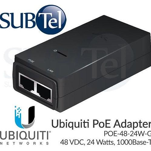 POE-48-24W-G Ubiquiti Gigabit POE Adapter 48V 24W UBNT
