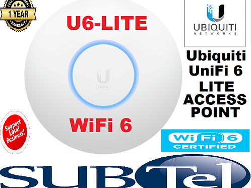 U6-LITE UniFi Lite WiFi 6 AP (Original Packing Without PoE Adapter)