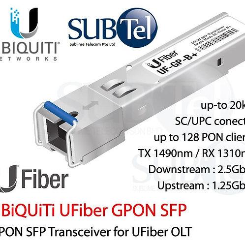 UF-GP-B+ Ubiquiti UFiber SFP - GPON SFP Transceiver For OLT. Class B+ SFP Module