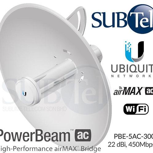 PBE-5AC-300 Ubiquiti PowerBeam AC 5GHz 22 dBi PTP UBNT