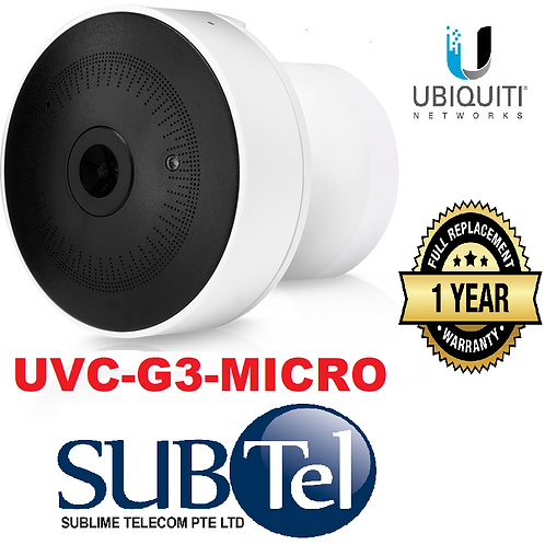 UVC-G3-Micro Ubiquiti Latest G3 Video Camera In Micro Version