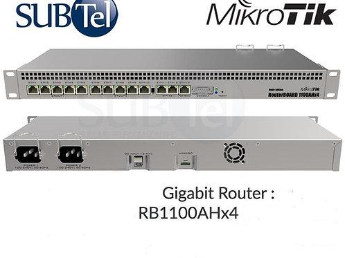 RB1100AHX4 Mikrotik Gigabit Router 13 Port Dual Core RouterOS