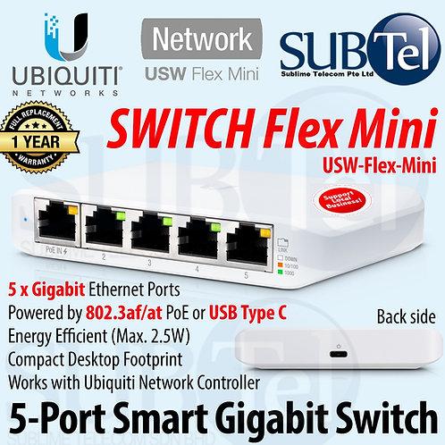 USW-Flex-Mini Ubiquiti UniFi Managed Gigabit Smart Switch USW Flex Mini UBNT