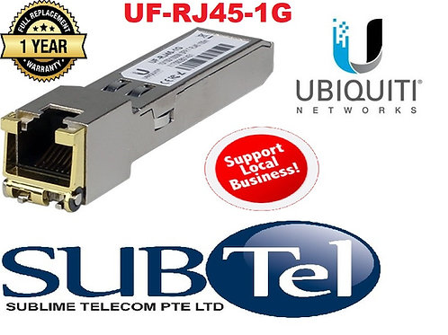 UF-RJ45-1G Ubiquiti Networks Copper Fiber Module UBNT