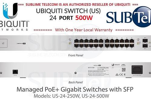 US-24-500W Ubiquiti UniFi Switch POE+ 24 Port SFP UBNT Singapore