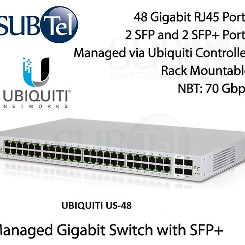 US-48 Ubiquiti Unifi Gigabit Switch 48 Port 10G SFP+ UBNT