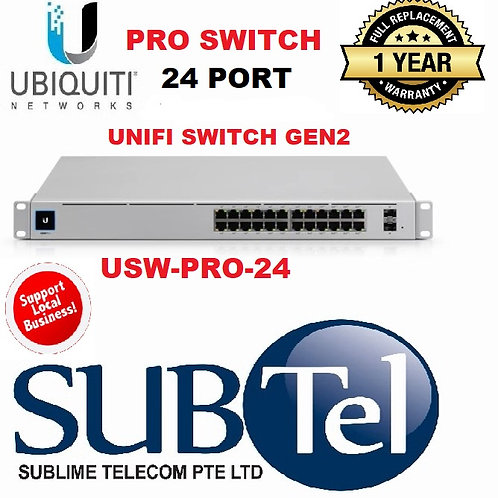 USW-PRO-24 Ubiquiti UniFi Gen2 Switch USW 24 Port PRO SFP+ Layer 3 UBNT