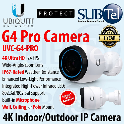 UVC-G4-PRO Ubiquiti Networks UniFi UVC G4 PRO 4K UHD IP67 Camera UBNT