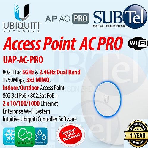 UAP-AC-PRO With POE-48V-24W-G - Ubiquiti UAP-AC-PRO UBNT Singapore