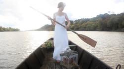 robe de mariée dentelle Nantes