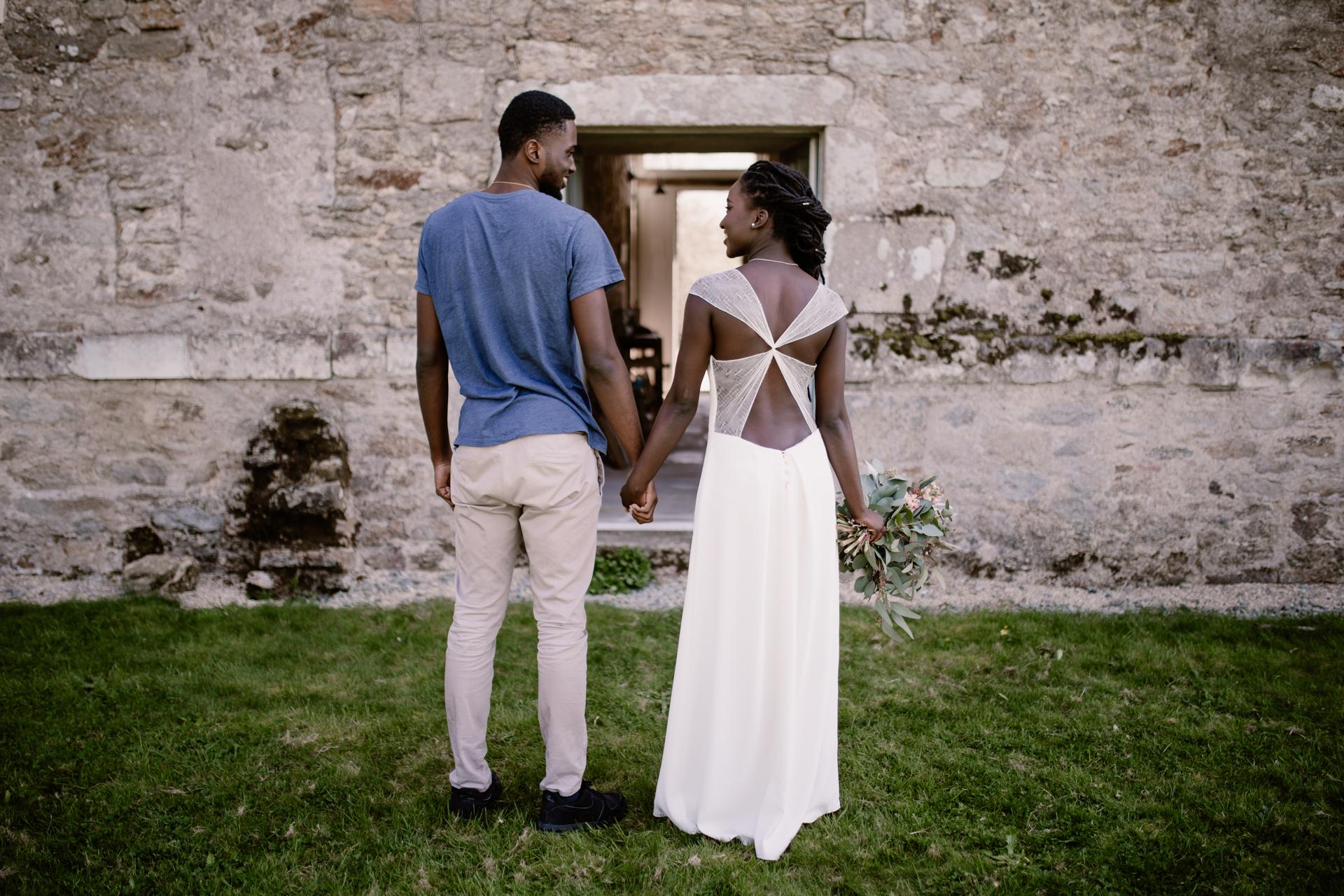 robe de mariée dos nu nantes 44