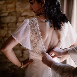 Et voici le dos de cette robe un peu fol