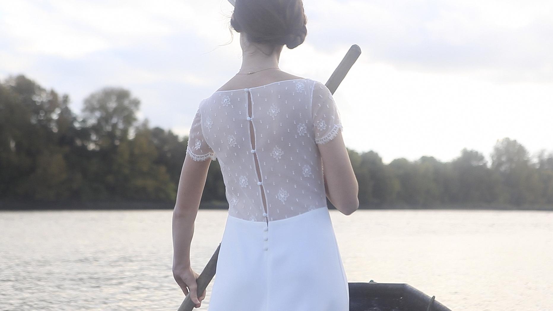 robes de mariée sur mesure Nantes