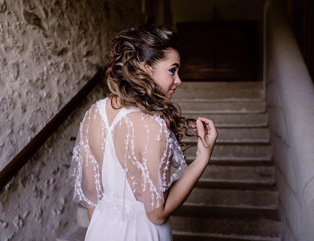 Robe de mariée tulle brodé