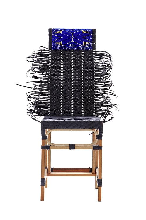 Rojjarnar                           ( Black Seat | Blue Pillow | Dots Pattern )