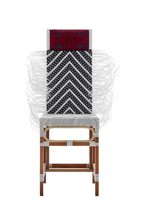 Rojjanar                             ( Ivory seat | Red Pillow | Arrow Pattern )