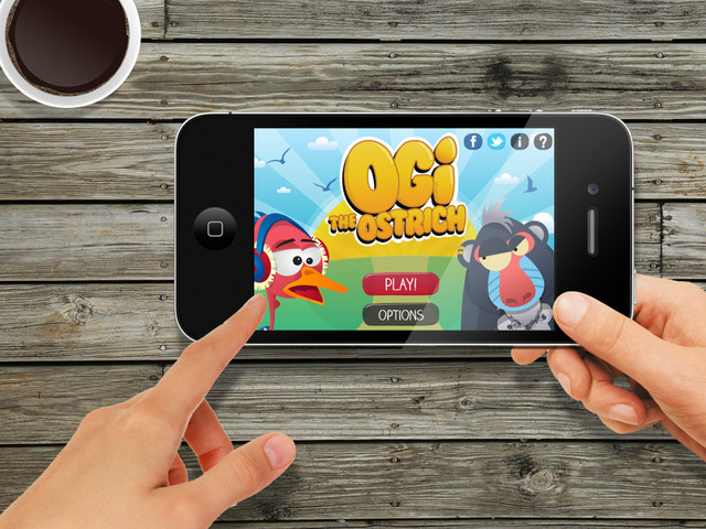 Ogi the Ostrich Mobile Game