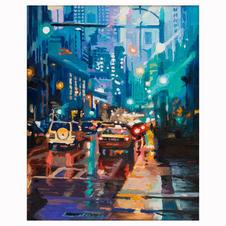 """Traffic in the Rain"""