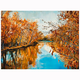 """Early November from the Baybrook Bridge"""