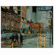 """"""" Rain on Idaho Street"""""""