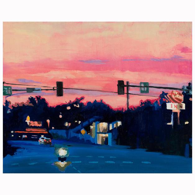 """Torch Sunset"""