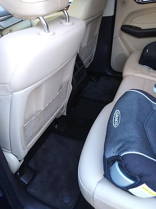 Car Detailing leather seats