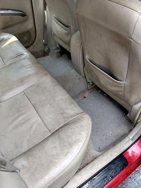 Car Detail Seats Shampoo