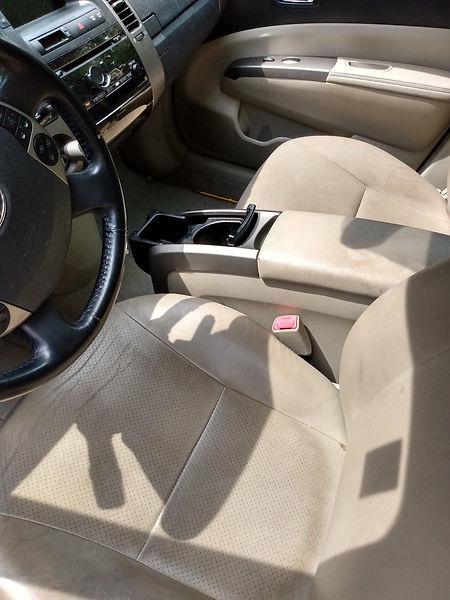 Car Detailing Seats Shampoo