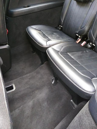 Car Detailing leather and vinyl protection
