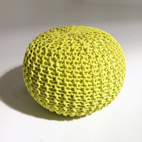 """The Grey Chair - Artisans' Bequest Collection (ABC) """"Pouf be Relaxed"""""""