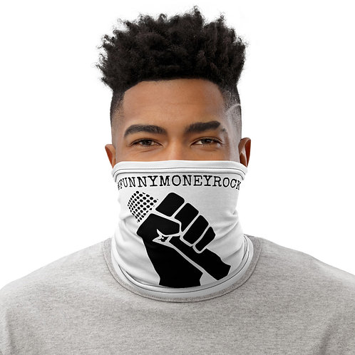 #FunnyMoneyRock Fist - neck and face cover