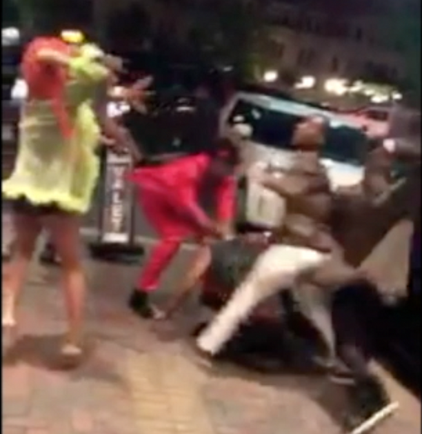 Fight Breaks Out At D.C. Pride 2017 (Video)