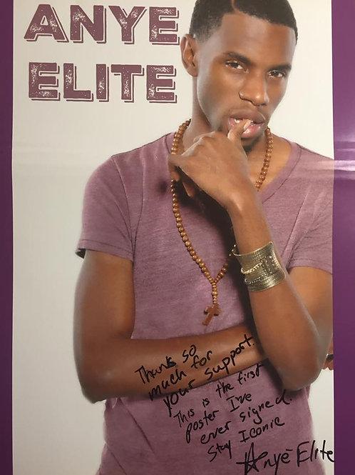 Autographed Elite Poster
