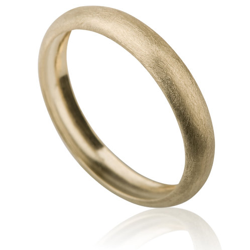 Classic 4 mm 14k Gold Wedding Band