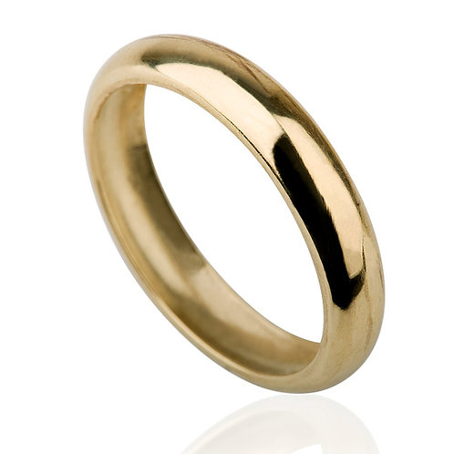 Classic 6 mm Gold Wedding Band