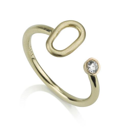 Open Diamond Ring