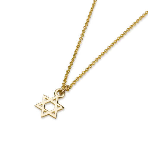Dainty STAR OF DAVID Pendant Necklace