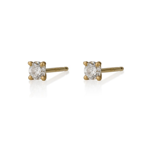 Diamond Dot stud earrings are handmade especialy for you.
