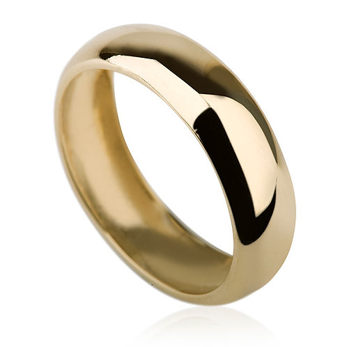 Classic 8 mm Gold Wedding Band