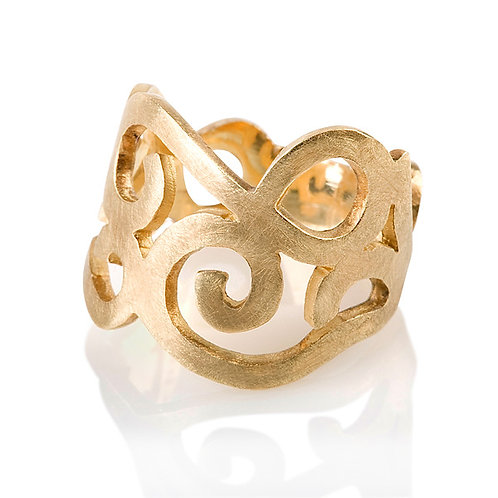 Swirly Ring