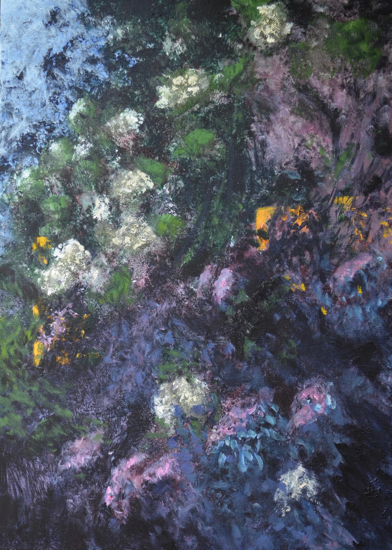 Vlier 1 | acryl op doek | 50x70