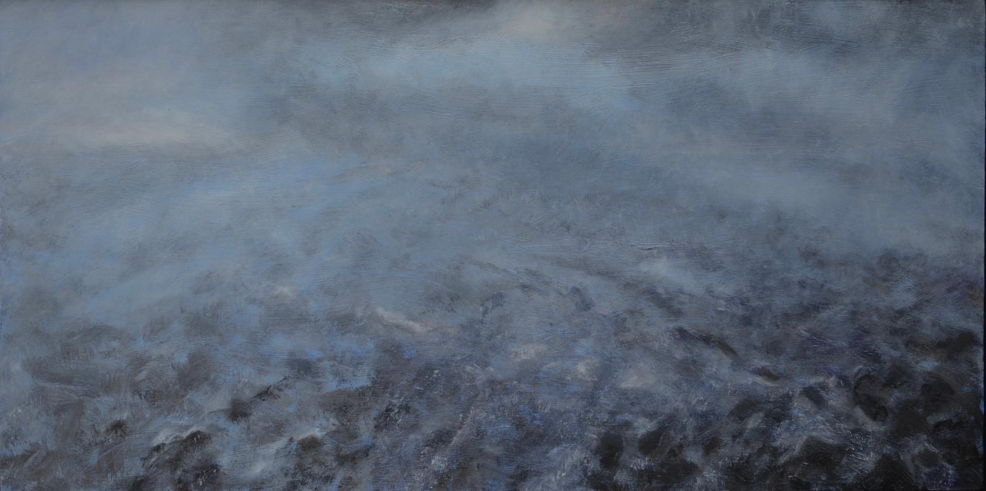 Mist | olieverf op paneel | 50x30