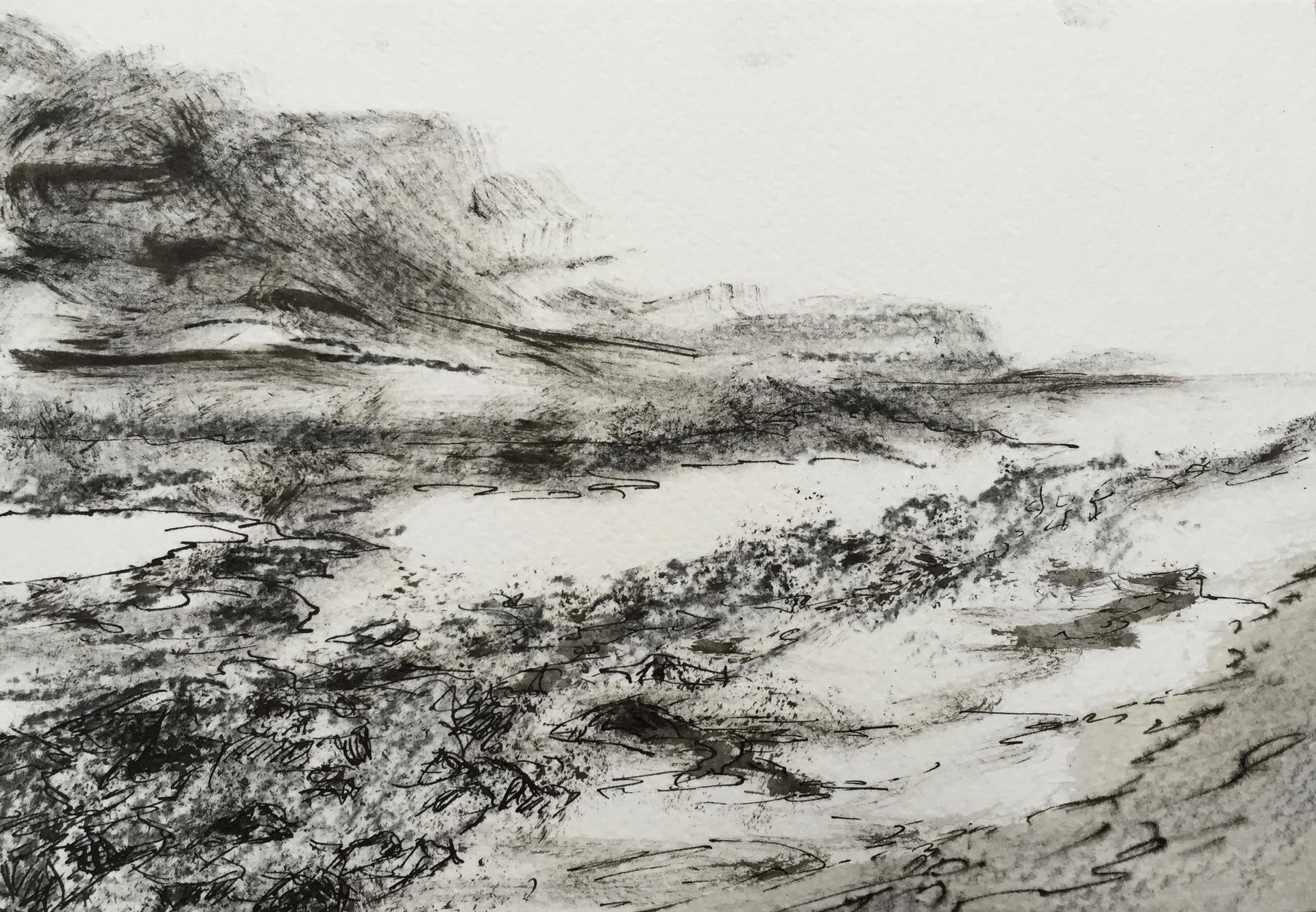 Bretagne 1 | inkt op papier | 18x12
