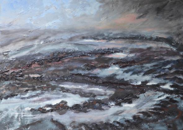 Klaai 10 | acryl op doek | 70x50