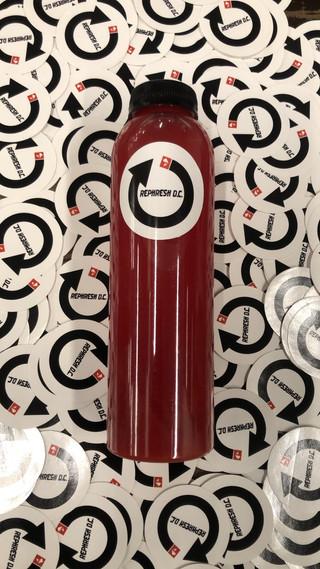 Cold press juice Rephresh washington dc