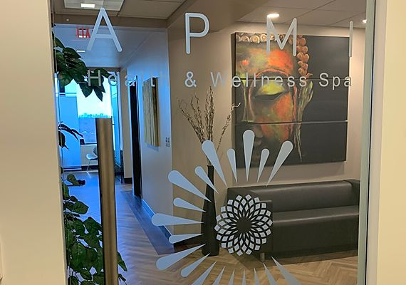 APMI Health, Esthetics, and Wellness Center Spa Entrance
