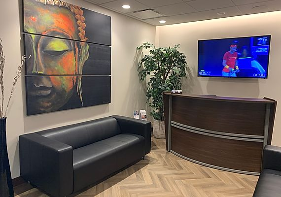 APMI Health, Esthetics, and Wellness Center Spa Waiting Room