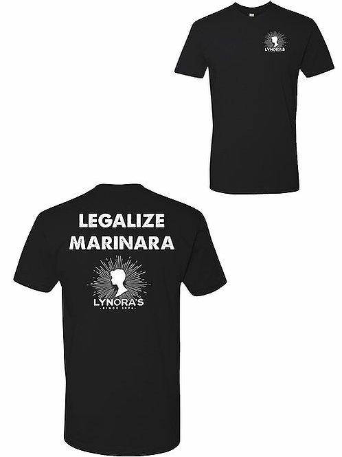 Legalize Marinara Mens T-Shirt
