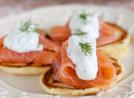 Gluten-Free Blini Recipe for Christmas