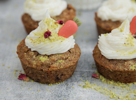 Carrot Muffins with Vegan Cream Frosting Recipe - From our 'Using the Mixes' Series